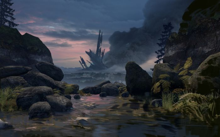 Beautiful Landscapes from the Video Games