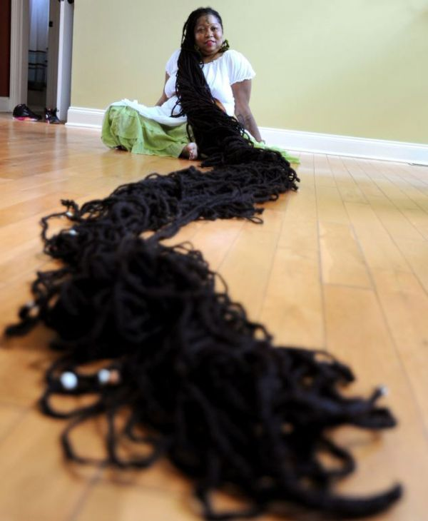The Real Life Rapunzel