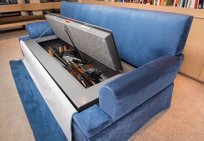 Couch with a Secret