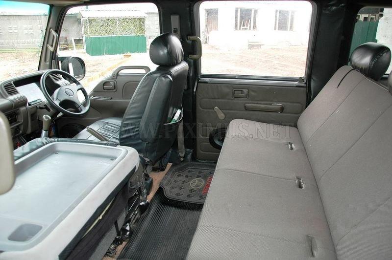 Homemade super-SUV, based on GAZ-66