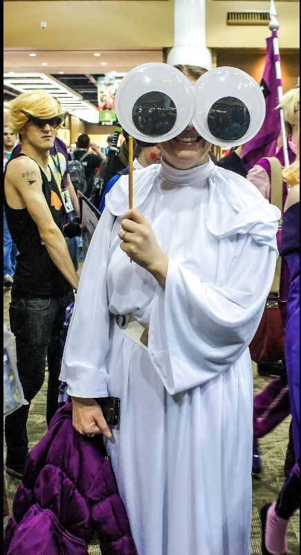 Cosplay with Giant Googly Eyes