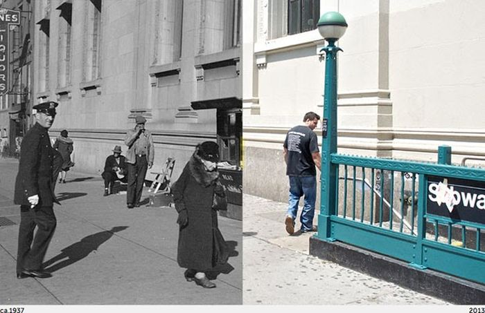 Then Meets Now in New York City