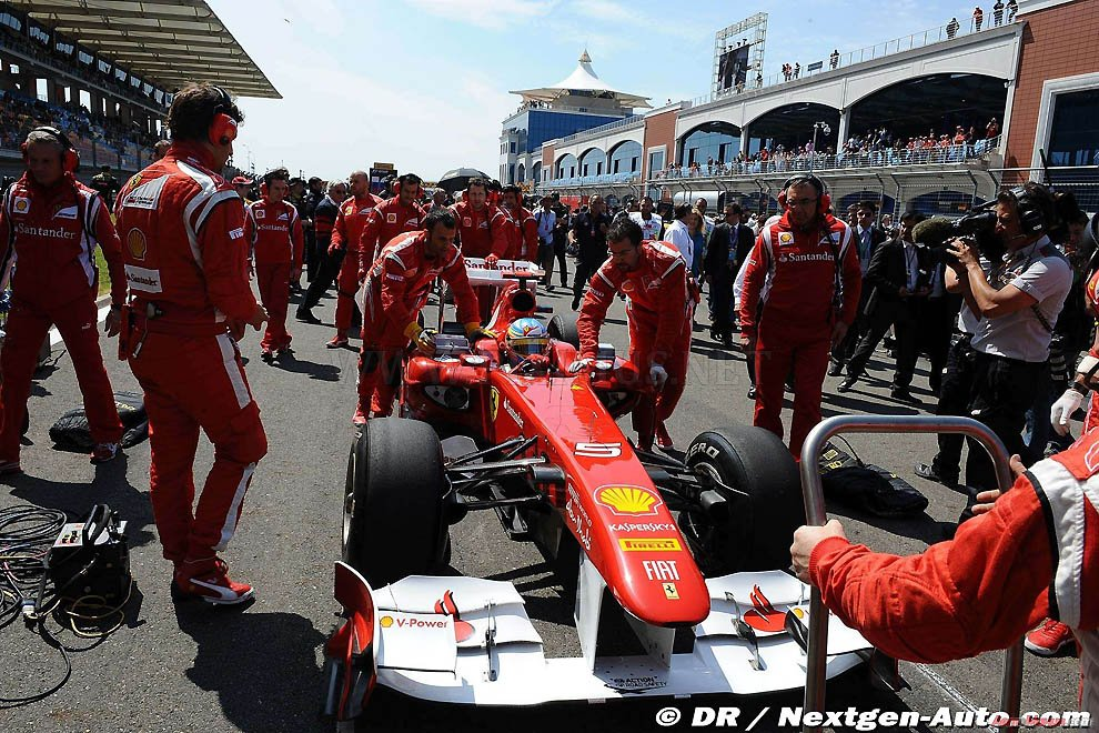 Behind the scenes the Turkish Grand Prix 2011, part 2011