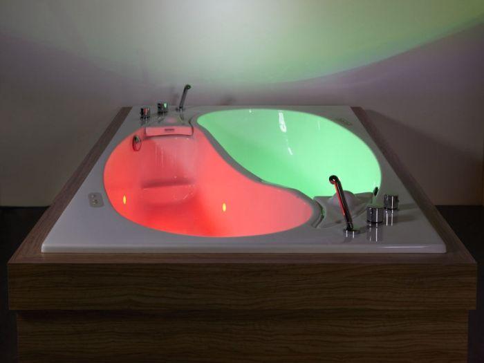 Couple Bath Worth $55,000, part 55000