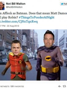 Reactions to Ben Affleck Being Cast as Batman