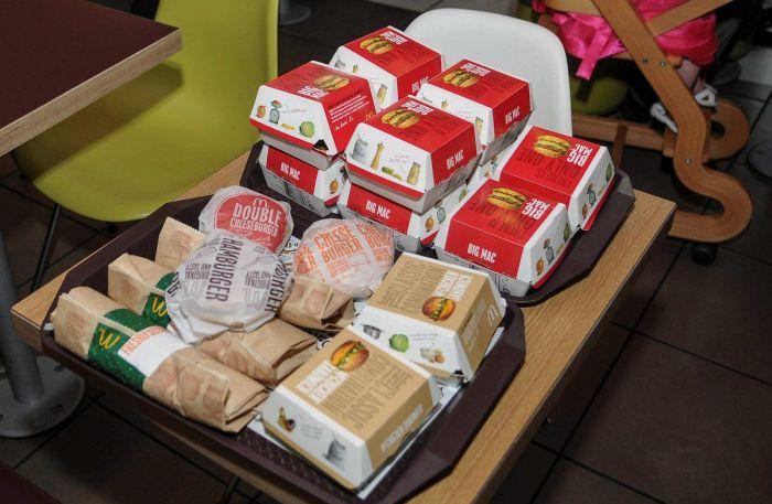 Wedding in McDonald's