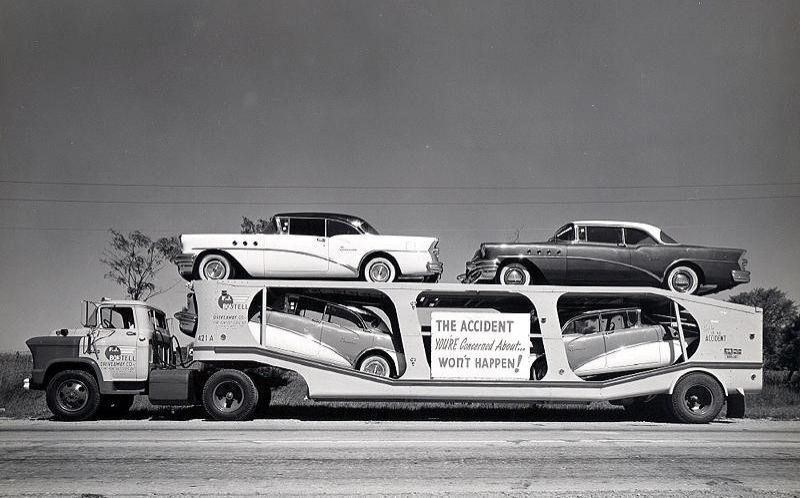 Vintage american car transporters vehicles for Old classic american cars