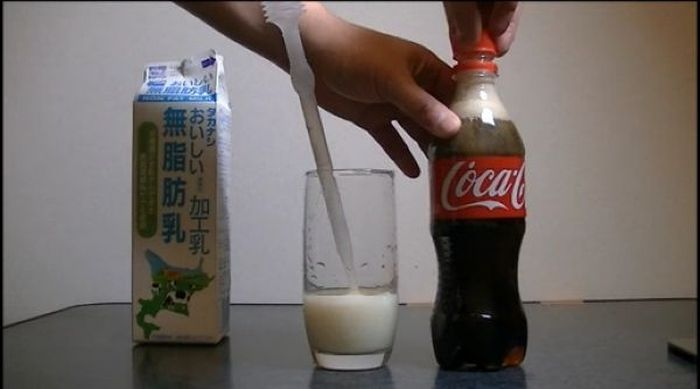 Cola with Milk