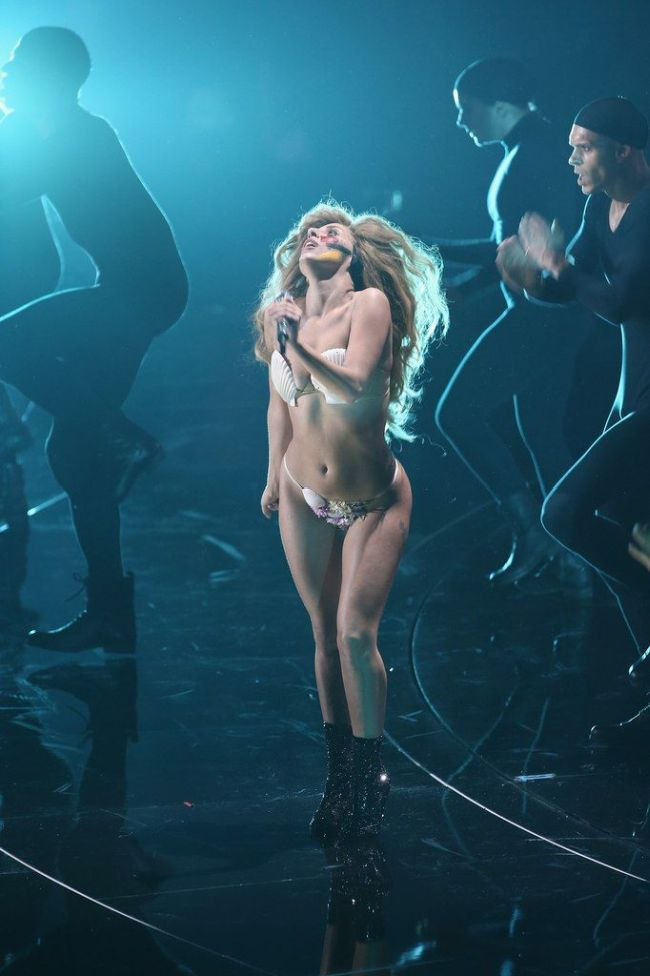 Lady Gaga at MTV VMA 2013
