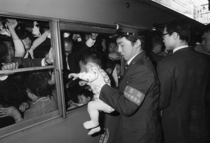 Tokyo Commuters in the '60s and '70s