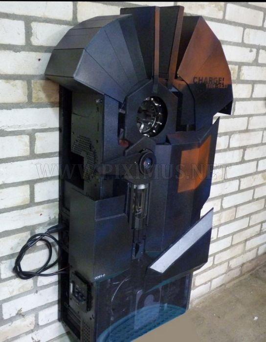 Half Life Suit Charger Case Mod
