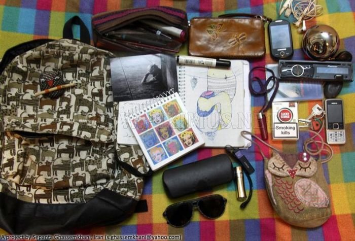 Things That People in Iran Carry