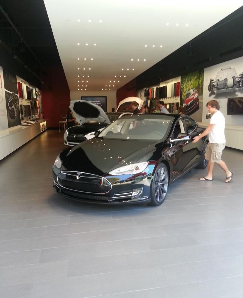 Tesla Dealership In California