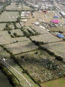 Aftermath of a Music Festival