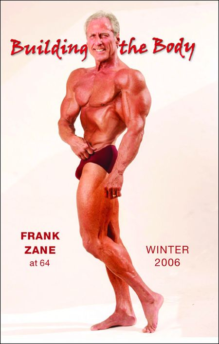 Frank Zane. 1972 vs 2012, part 2012