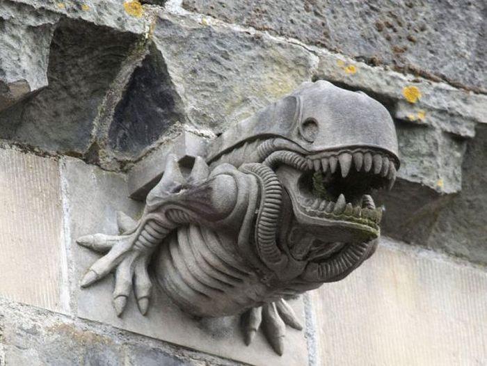 Aliens in Scottland