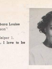 East High School Yearbook from 1951