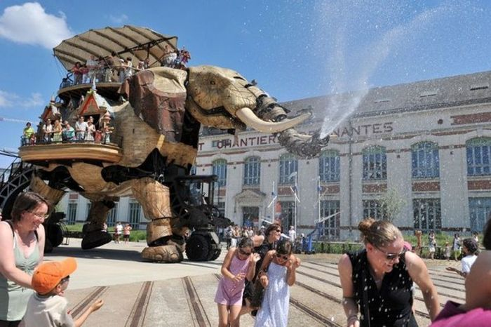 Monsters & Machines of the Isle of Nantes