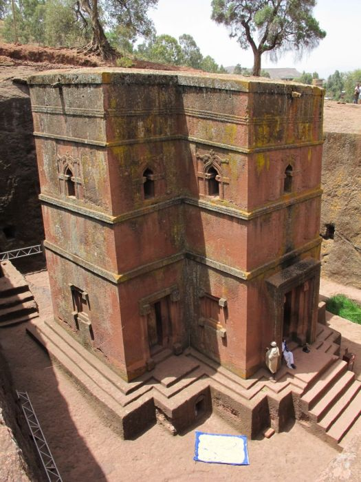 The Church of Saint George in Lalibela