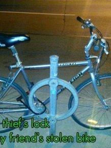 How to Teach Bike Thief a Lesson