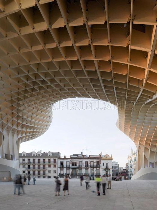 Metropol Parasol, World's Largest Wooden Structure