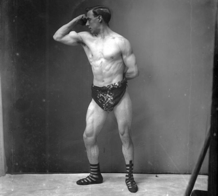 Bodybuilders Then and Now