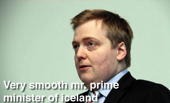 Prime Minister of Iceland Has an Awkward Sense of Style