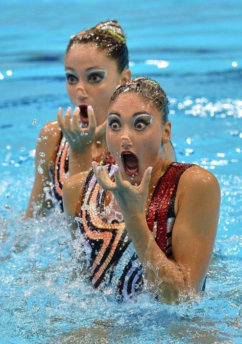 Funny Sport Faces