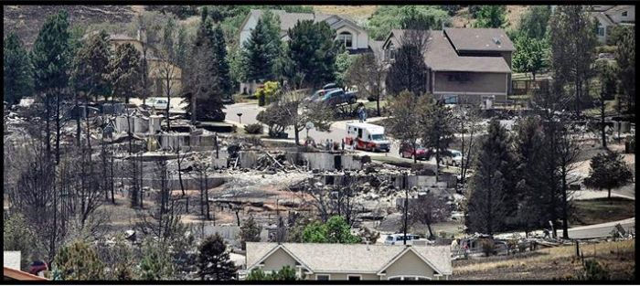One Year After Fire