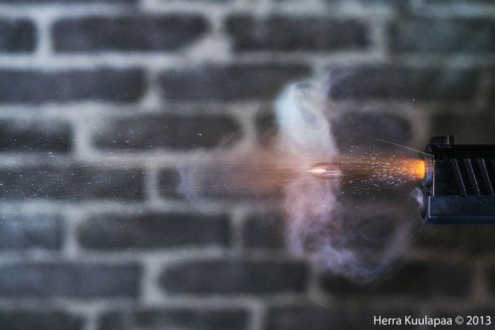 Gun Shots in Slow Motion