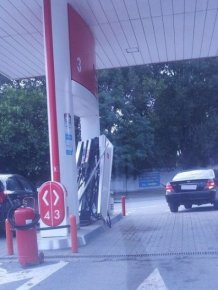 Gas Station Fail