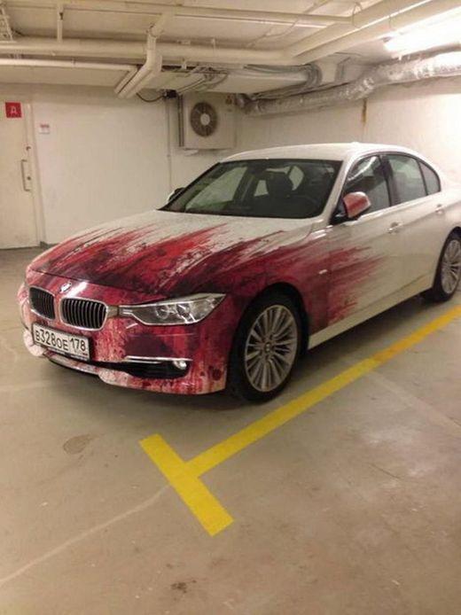 Tasteless Car Airbrush