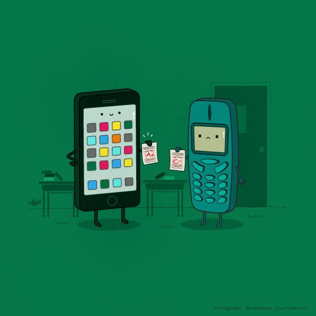 Clever Illustrations by Nabhan