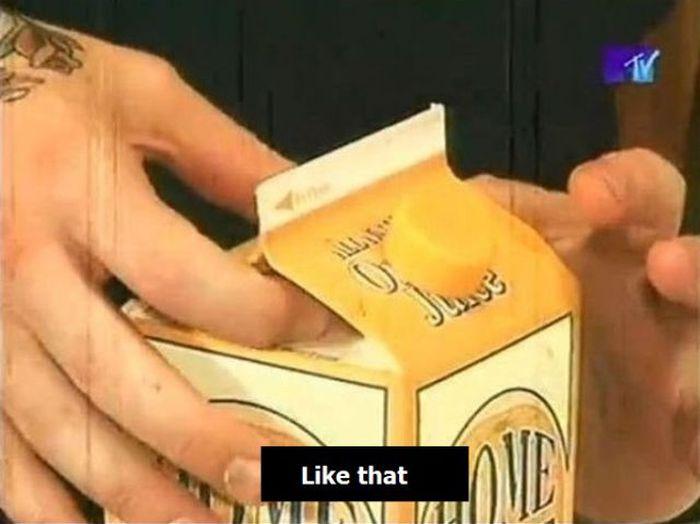 Juice Prank