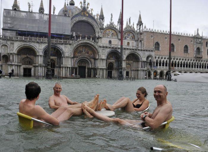 Fun During Floodings