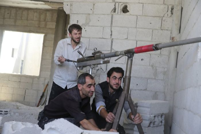 Self-Made Weapons in Syria