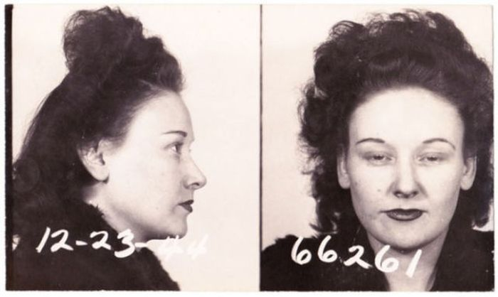 Vintage Mugshots of Females