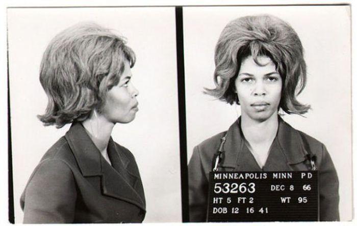 Vintage Mugshots of Females