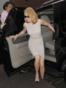 Nicole Kidman Got Hit by a Bike