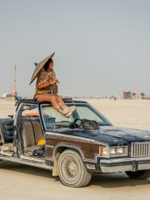 The Vehicles of Burning Man 2013