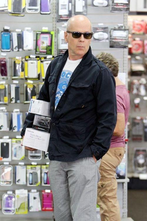 Bruce Willis in LA