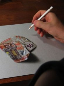 Very Realistic 3D Drawings