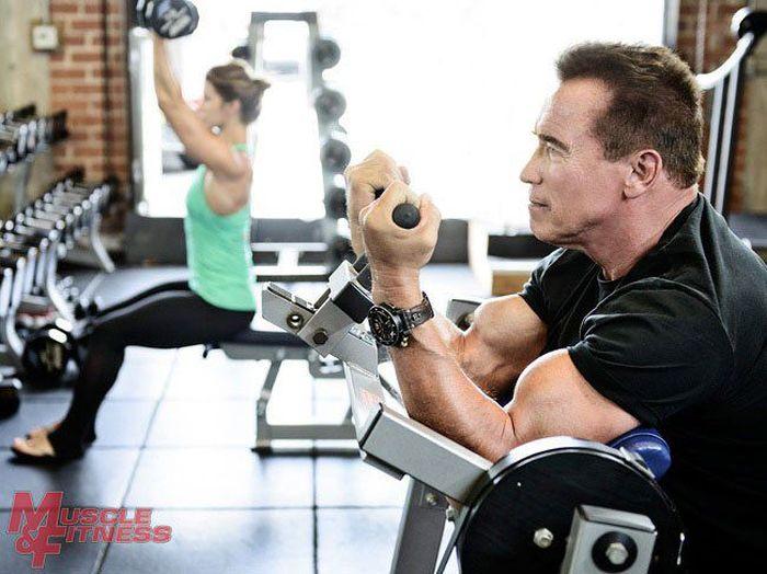 Arnold Schwarzenegger. Forever Strong