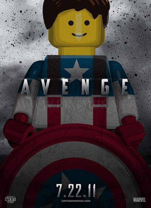 Lego Posters of Summer 2011 Movies