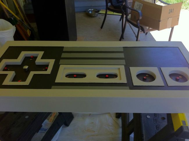 NES Controller Coffee Table
