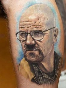 Awesome Walter White Tattoos