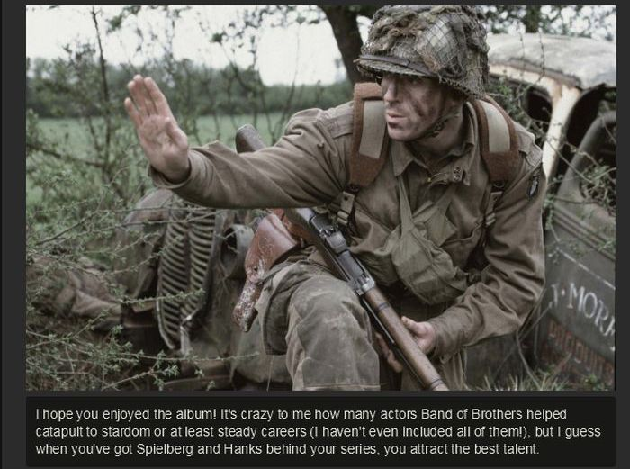 Band of Brothers Then and Now