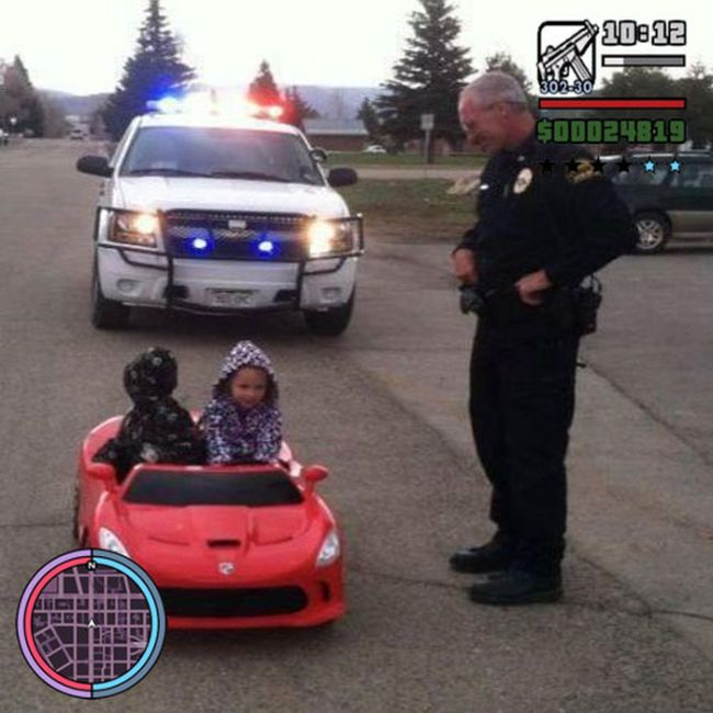 Grand Theft Auto In Real Life