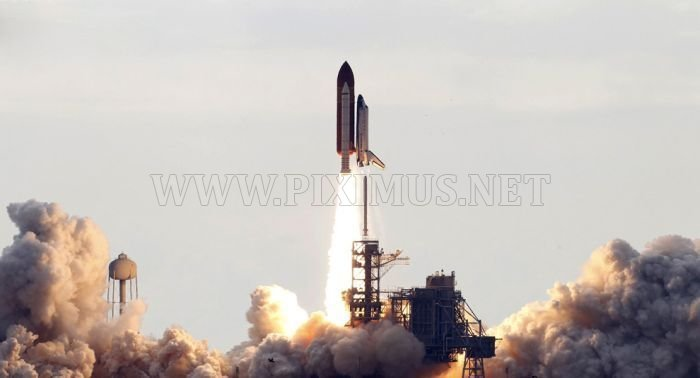 Space shuttle Endeavour launched