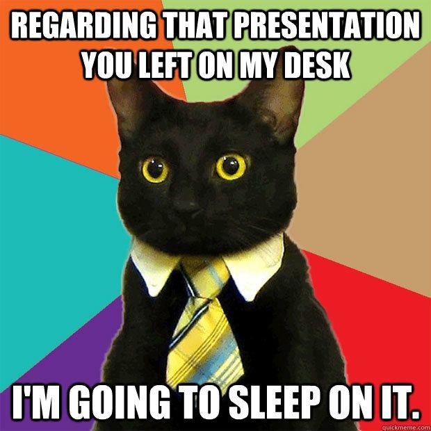 Business Cat